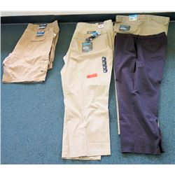 Qty 4 Ultimate Chino Pants Size 50 & 56 & 2 Full Blue Cargo Shorts Size 52 & 56
