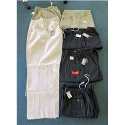 Qty 2 Creekwood Elastic Waist Pants & 4 Elastic Shorts Size 62-66