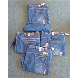Qty 4 Men's Grand River Denim Jeans Size 68