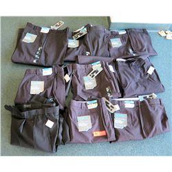 Qty 9 Men's Savane Ultimate Chino Pants Expandable Waistband Size  46