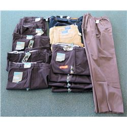 Qty 11+ Ultimate Chino Pants & Full Blue Cargo Shorts Size 58