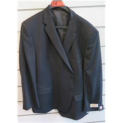 Petrocelli Flex Apparel Wool & Polyester Suit Jacket Size PS 54