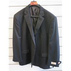 Petrocelli Flex Apparel Wool & Polyester Suit Jacket Size 54