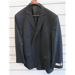 Petrocelli Flex Apparel Wool & Polyester Suit Jacket Size L 54
