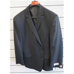 Petrocelli Flex Apparel Wool & Polyester Suit Jacket Size 52
