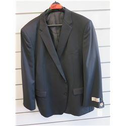 Petrocelli Flex Apparel Wool & Polyester Suit Jacket Size PR 52