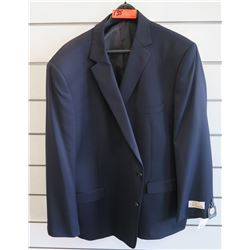 Petrocelli Flex Apparel Wool & Polyester Suit Jacket Size L 56