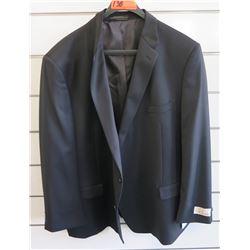 Petrocelli Flex Apparel Wool & Polyester Suit Jacket Size PR 56