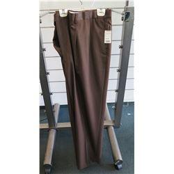 Brown Long Pants Size 52