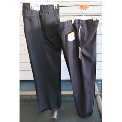 Qty 2 Savane Big & Tall Long Pants Size 40