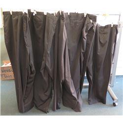 Qty 4 Jonathan Quale Black Long Pants Size 76