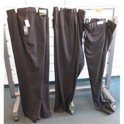 Qty 3 Jonathan Quale Black Long Pants Size 72