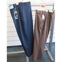 Qty 2 Savane Big & Tall & Jonathan Quale Long Pants Size 60