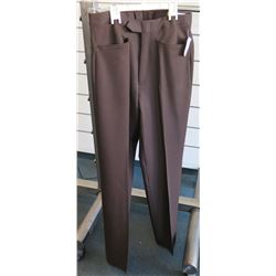 Brown Long Dress Pants Size 32
