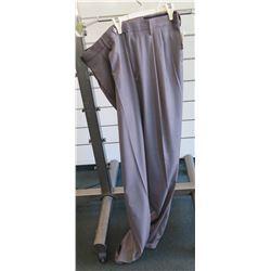 Savane Gray Long Dress Pants Size 36W