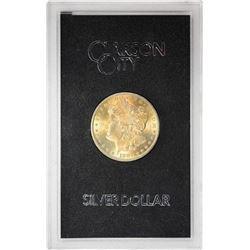 1883-CC $1 Morgan Silver Dollar Coin GSA Hoard Amazing Toning