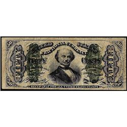 March 3, 1863 Fifty Cent 3rd Issue Fractional Currency Note