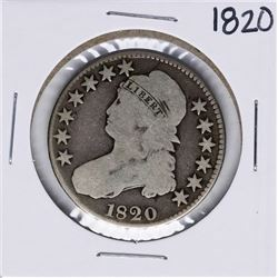 1820 Capped Bust Half Dollar Coin