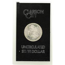 1885-CC VAM-2 $1 Morgan Silver Dollar Coin GSA Hoard Uncirculated w/Box