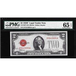 1928F $2 Legal Tender Note Fr.1507 PMG Gem Uncirculated 65EPQ