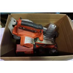 MILWAUKEE CORDLESS TOOLS, CHARGER, CIRUCULAR SAW