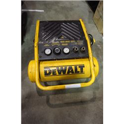 DEWALT PORTABLE ELECTIC AIR COMPRESSOR