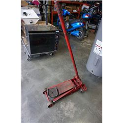RED HYDRAULIC TROLLEY JACK
