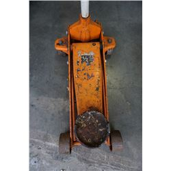ORANGE 2-1/2 TON HYDRAULIC TROLLEY JACK