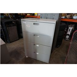 4 DRAWER HON LATERAL FILING CABINET