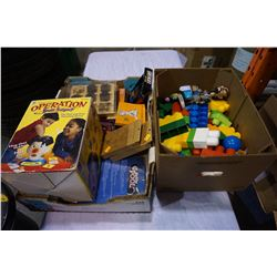 OPERATION BRAIN SURGERY AND KIDS TOYS