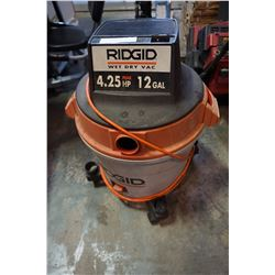 RIDGID WET DRY 12 GALLON SHOP VAC