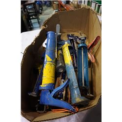 BOX OF CAULKING GUNS