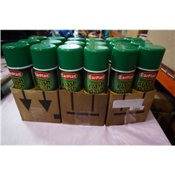18 BOTTLES OF AEROSOL FLASH DASH CLEANER