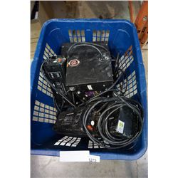 BASKET OF LIGHT BALLASTS