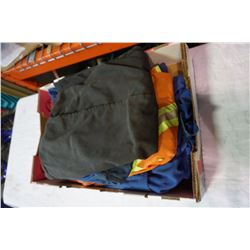 TRAY OF 6 COVERALLS
