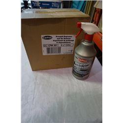 BOX OF PREWASH DEGREASER