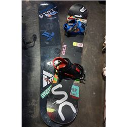 RIDE AND ACADEMY SNOWBOARDS
