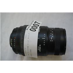 SIGMA 70-300mm D LI 4-5.6 CAMERA LENS