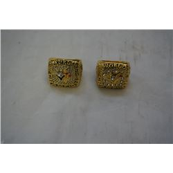 2 NEW REPRO TORONTO BLUEJAYS WORLD SERIES RINGS