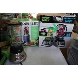 NINJA NUTRI BLENDER DUE - NEEDS BLENDER SIDE PITCHER AND NUTRI BULLET