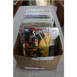 BOX OF 100 COLLECTIBLE COMICS