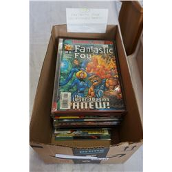 BOX OF 75 FANTASTIC 4 COMICS