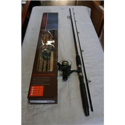 COPPER RIVER FISHING ROD IN BOX AND PANCO ELITE FISHING ROD W/ SPINNING REEL