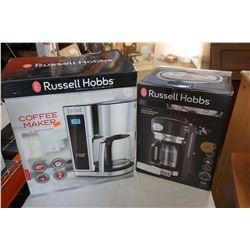 2 RUSSELL HOBBS COFFEE MAKERS