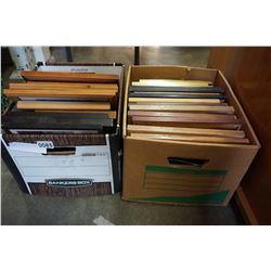 2 BOXES OF MOVIE SET DECOR PRINTS