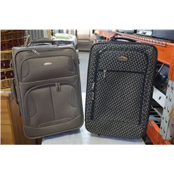 2 PIECES OLYMPIE AND RICARDO LUGGAGE