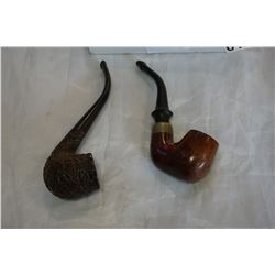 2 VINTAGE PIPES - BRIGHAM AND BRIAR