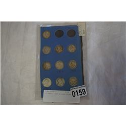 10 EARLY 1900 SILVER COINS