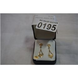 10KT GOLD LADIES EARRINGS