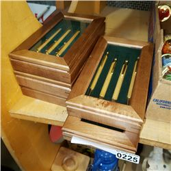 5 CASED 4PC PEN SETS
